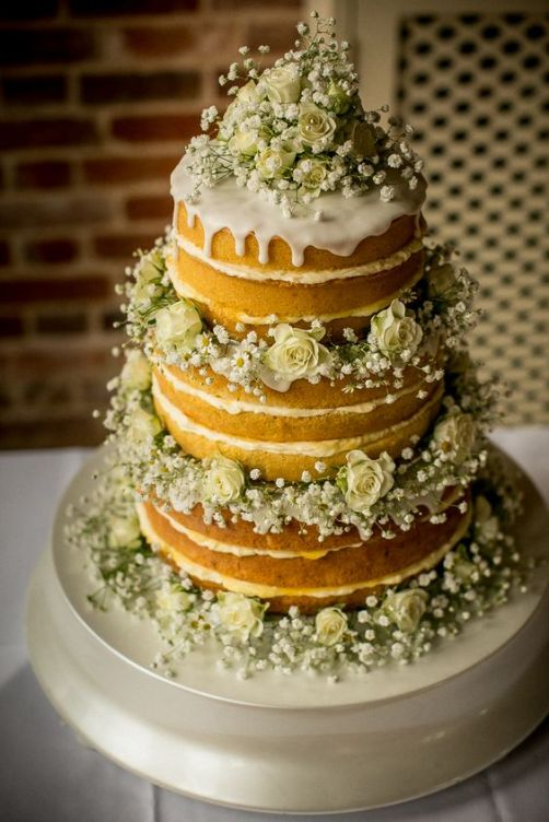 Bare and beautiful – 33 naked bakes for your wedding. – My Something ...